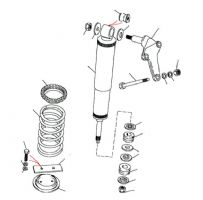 Rear Shock Absorbers & Springs